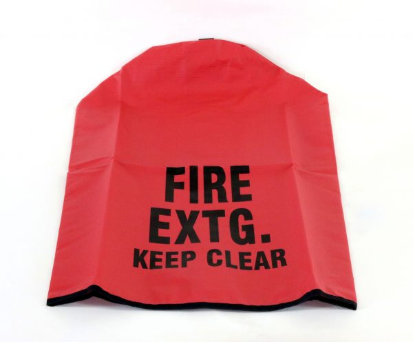 Heavy Duty Fire Extinguisher Cover--Large