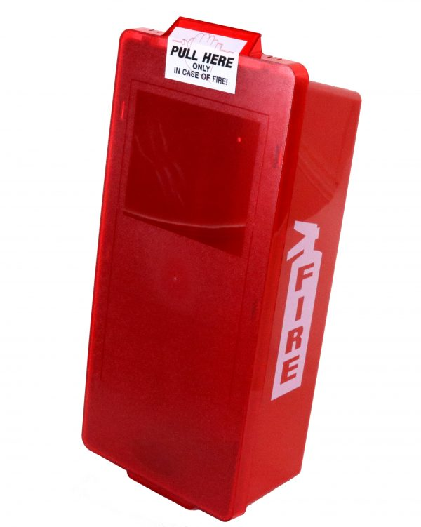 Red Tub Fire Extinguisher Cabinet max of 20""